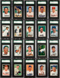 Baseball Cards:Sets, 1951 Bowman High Grade SGC Graded Near Set (260/324). ...