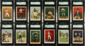 Boxing Cards:General, 1910 T220 Mecca Cigarettes Boxing Complete Set (50) - #2 on the SGCSet Registry. ...