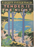 Books:Literature 1900-up, F. Scott Fitzgerald. Tender is the Night. A Romance. New York: Charles Scribner's Sons, 1934. First edition, fir...