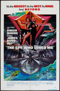 "Movie Posters:James Bond, The Spy Who Loved Me (United Artists, 1977). One Sheet (27"" X 41"").James Bond.. ... (Total: 2 Items)"