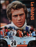 "Movie Posters:Sports, Le Mans (Cinema Center, 1971). Promotional Poster (17"" X 22""). Sports.. ..."