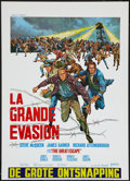 """Movie Posters:War, The Great Escape (United Artists, 1963). Belgian (18"""" X 25""""). War.. ..."""