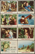 """Movie Posters:Drama, Green Mansions (MGM, 1959). Lobby Card Set of 8 (11"""" X 14""""). Drama.. ... (Total: 8 Items)"""