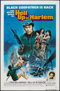 "Movie Posters:Blaxploitation, Hell Up in Harlem (American International, 1973). One Sheet (27"" X41""). Blaxploitation.. ..."