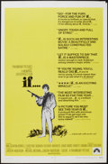 "Movie Posters:Drama, If... (Paramount, 1969). One Sheet (27"" X 41""). Drama.. ..."