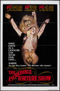 "Movie Posters:Horror, The Incredible Torture Show (AFDC, 1976). One Sheet (27"" X 41""). Horror.. ..."