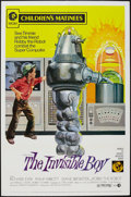 "Movie Posters:Science Fiction, The Invisible Boy (MGM, R-1973). One Sheet (27"" X 41""). ScienceFiction.. ..."