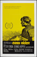 "Movie Posters:Drama, Easy Rider (Columbia, 1969). One Sheet (27"" X 41"") Style A. Drama.. ..."