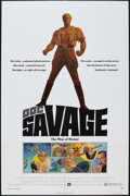 "Movie Posters:Adventure, Doc Savage: The Man of Bronze (Warner Brothers, 1975). One Sheets(2) (27"" X 41"") Advance and Regular Style. Adventure.. ... (Total:2 Items)"