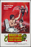 "Movie Posters:Action, Bruce Lee Fights Back from the Grave (Aquarius Releasing, 1978).One Sheet (27"" X 41""). Action.. ..."