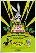 """Movie Posters:Animation, Bugs Bunny Superstar (Warner Brothers, 1976). One Sheet (25"""" X 36.25""""). Animation.. ..."""