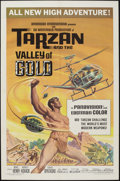 "Movie Posters:Adventure, Tarzan and the Valley of Gold & Others Lot (AmericanInternational, 1966). One Sheet (27"" X 41""), Title Lobby Card andLobby... (Total: 4 Items)"