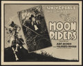 "Movie Posters:Serial, The Moon Riders (Universal, 1920). Title Lobby Card (11"" X 14""). Villain Style. Serial.. ..."