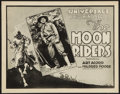 "Movie Posters:Serial, The Moon Riders (Universal, 1920). Title Lobby Card (11"" X 14""). Art Arcord Style. Serial.. ..."