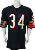 Football Collectibles:Uniforms, Mid 1980's Walter Payton Game Worn Chicago Bears Jersey. ...