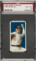 Baseball Cards:Singles (Pre-1930), 1909-11 T206 Sweet Caporal Fred Burchell PSA NM-MT 8....