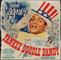 "Movie Posters:Musical, Yankee Doodle Dandy (Warner Brothers, 1942). Six Sheet (81"" X 81"").Musical.. ..."