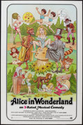"""Movie Posters:Adult, Alice in Wonderland (General National, 1976). One Sheet (27"""" X 41""""). Adult.. ..."""