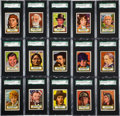 "Non-Sport Cards:Sets, 1952 Topps ""Look N' See"" Complete Set (135) - #1 on the SGC SetRegistry! ..."