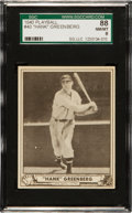 Baseball Cards:Singles (1940-1949), 1940 Play Ball Hank Greenberg #40 SGC 88 NM/MT 8 - None Higher! ...