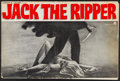 "Movie Posters:Mystery, Jack the Ripper (Paramount, 1960). Uncut Pressbook (Multiple Pages,13.5"" X 20.5""). Mystery.. ..."