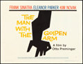 "Movie Posters:Drama, The Man with the Golden Arm (United Artists, 1955). Half Sheet (22"" X 28"") Style A. Drama.. ..."