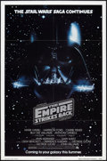 "Movie Posters:Science Fiction, The Empire Strikes Back (20th Century Fox, 1980). One Sheet (27"" X41"") Advance. Science Fiction.. ..."