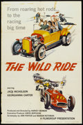 "Movie Posters:Exploitation, The Wild Ride (Filmgroup, Inc., 1960). One Sheet (27"" X 41""). Exploitation.. ..."
