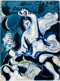 Books:Art & Architecture, [Marc Chagall]. Dessins pour la Bible. [Drawings for the Bible]. (Verve, Vol. X, Nos 37-38...
