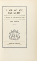 Books:Science & Technology, [Thomas A. Edison]. Terry Ramsaye. A Million and One Nights. AHistory of the Motion Picture. New York: Simon an... (Total: 2Items)