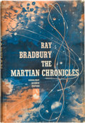 Books:Science Fiction & Fantasy, Ray Bradbury. The Martian Chronicles. Garden City: Doubleday, 1950. First edition, first printing. Octavo. 222 pages...