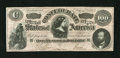 Confederate Notes:1864 Issues, CT65 $100 1864. The Choice About Uncirculated grade on this Havana counterfeit can not begin to describe this note. whil...