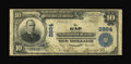 National Bank Notes:Pennsylvania, Gap, PA - $10 1902 Plain Back Fr. 624 The Gap NB Ch. # 2864. ...
