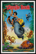 "Movie Posters:Animated, The Jungle Book (Buena Vista, R-1990s). One Sheet (27"" X 41"") DS.Animated. ..."