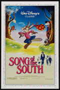 "Movie Posters:Animated, Song of the South (Buena Vista, R-1986). One Sheet (27"" X 41"").Animated. ..."