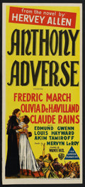 "Movie Posters:Adventure, Anthony Adverse (Warner Brothers, R-1940s). Australian Daybill (13""X 30""). Adventure. ..."