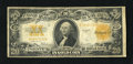 Large Size:Gold Certificates, Fr. 1187 $20 1922 Mule Gold Certificate Fine. This is an evenly circulated $20 Gold with edge wear concentrated at top and b...