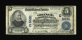 National Bank Notes:Pennsylvania, Smethport, PA - $5 1902 Plain Back Fr. 600 The Grange NB of McKean County Ch. # (E)8591. ...