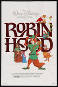 "Movie Posters:Animated, Robin Hood (Buena Vista, R-1982). One Sheet (27"" X 41""). Animated. ..."