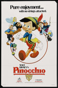 "Movie Posters:Animated, Pinocchio (Buena Vista, R-1984). One Sheet (27"" X 41""). Animated...."