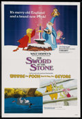 """Movie Posters:Animated, The Sword in the Stone/Winnie the Pooh and a Day for Eeyore Combo (Buena Vista, R-1983). One Sheet (27"""" X 41""""). Animated. ..."""