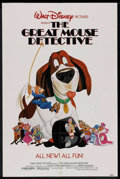 "Movie Posters:Animated, The Great Mouse Detective (Buena Vista, 1986). One Sheet (27"" X 41""). Animated. ..."