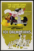"Movie Posters:Animated, 101 Dalmatians (Buena Vista, R-1979). One Sheet (27"" X 41""). Animated. ..."