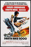 "Movie Posters:Cult Classic, Death Race 2000 (New World Pictures, 1975). One Sheet (27"" X 41"").Cult Classic. ..."