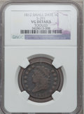 Large Cents: , 1812 1C Small Date -- Tooled -- NGC Details. VG. S-291. NGC Census:(5/261). PCGS Population (3/204). Mintage: 1,075,500. ...