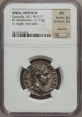 Ancients:Roman Provincial , Ancients: SYRIA. Antioch. Caracalla (AD 198-217). AR tetradrachm(11.71 gm). ...