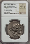 Ancients:Greek, Ancients: THRACE. Maroneia. After 148 BC. AR tetradrachm (15.08gm). ...