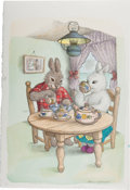 Books:Children's Books, [Garth Williams]. Rosemary Wells. Illustration by Garth Williamsfor Benjamin's Treasure, on page two, adapted f...
