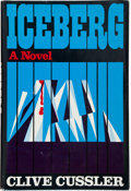Books:Mystery & Detective Fiction, Clive Cussler. Iceberg. New York: Dodd, Mead & Company,[1975]. First edition, first printing. Inscribed and s...