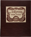 """Books:Fine Press & Book Arts, Leonid Gorban. The 10 Engravings from """"The Book of Daniel.""""[Brooklyn: Gorban Press, ca. 1998]. First edition, one o..."""